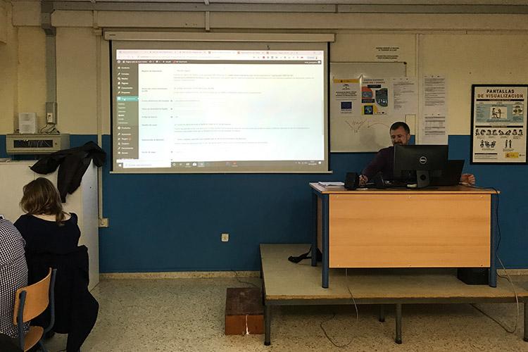 Curso diseño web y ecommerce Instituto Andrés Benítez ajustes y optimización WooCommerce