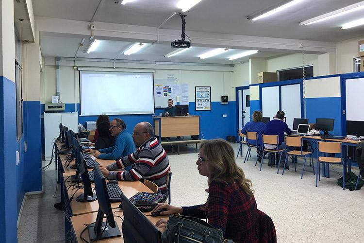 Curso diseño web y ecommerce Instituto Andrés Benítez back office Demos WP