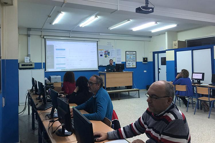 Curso diseño web y ecommerce Instituto Andrés Benítez back office PrestaShop