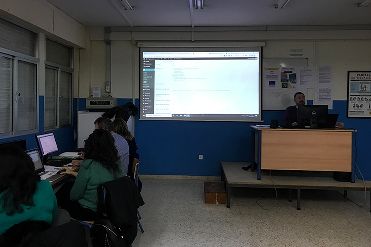 Curso diseño web y ecommerce Instituto Andrés Benítez definición zonas de envío
