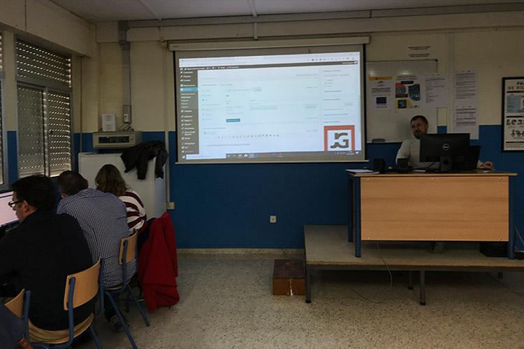 Curso diseño web y ecommerce Instituto Andrés Benítez ficha de producto optimización descripción larga