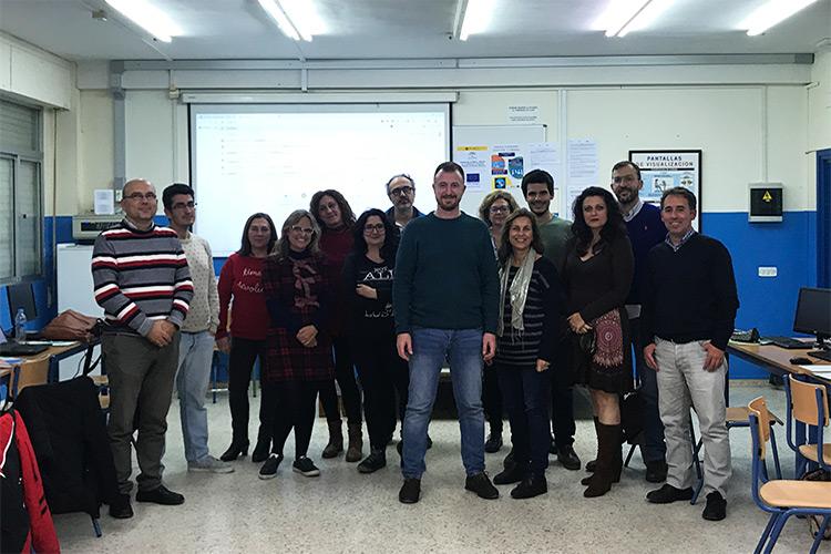 Curso diseño web y ecommerce Instituto Andrés Benítez final primer día
