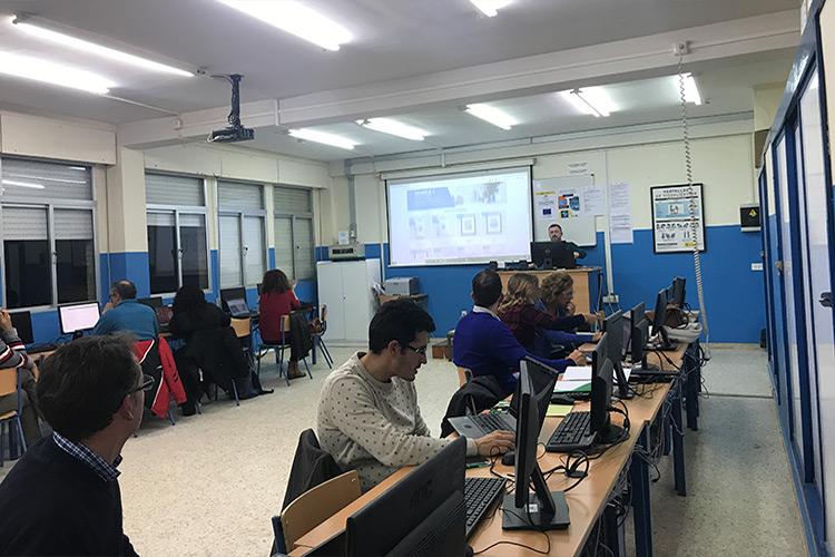 Curso diseño web y ecommerce Instituto Andrés Benítez front office PrestaShop