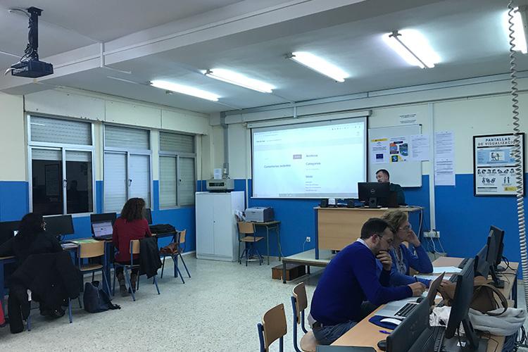 Curso diseño web y ecommerce Instituto Andrés Benítez front office WordPress