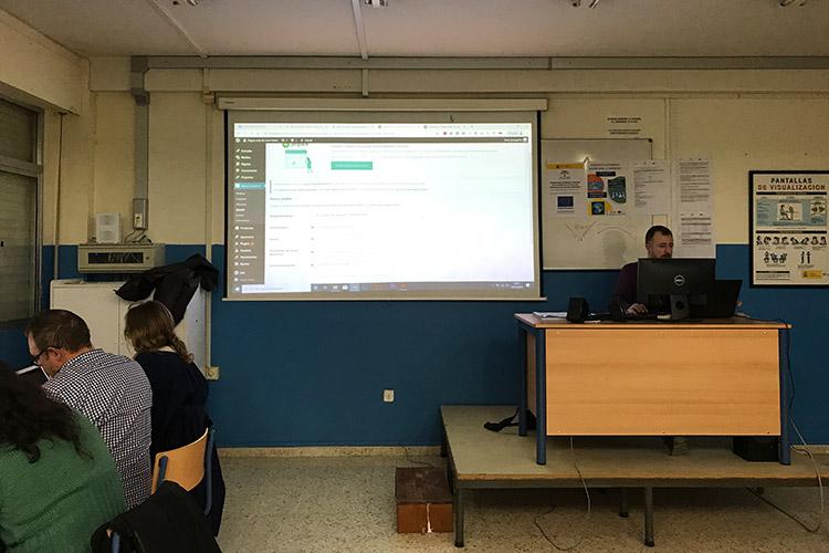 Curso diseño web y ecommerce Instituto Andrés Benítez gestión transporte y logística