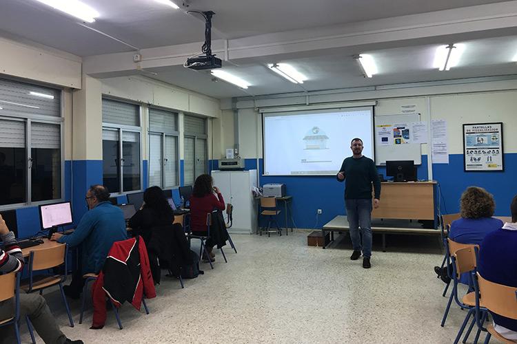Curso diseño web y ecommerce Instituto Andrés Benítez instalación PrestaShop