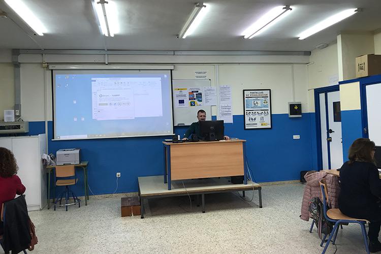 Curso diseño web y ecommerce Instituto Andrés Benítez instalación servidor local