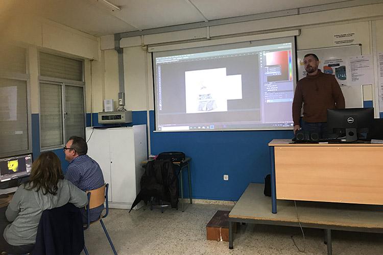 Curso diseño web y ecommerce Instituto Andrés Benítez optimización imágenes PhotoShop