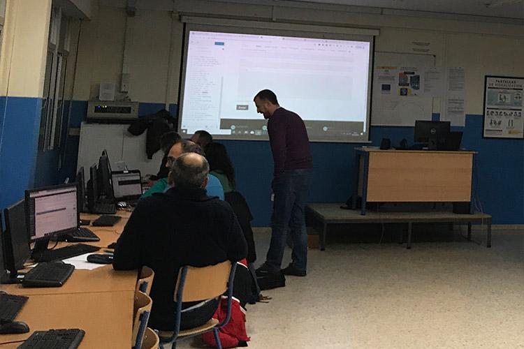 Curso diseño web y ecommerce Instituto Andrés Benítez parte Divi importación de archivos JSON
