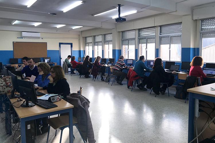Curso diseño web y ecommerce Instituto Andrés Benítez profesores asistentes