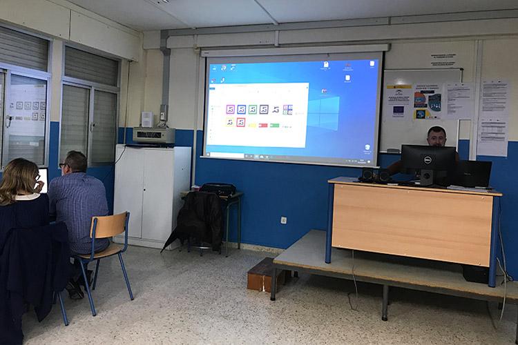 Curso diseño web y ecommerce Instituto Andrés Benítez subida individual imágenes biblioteca de medios