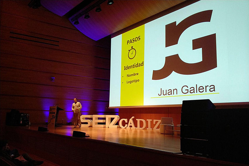 Branding Day Cádiz Cadena SER ponencia marketing digital y marca personal Juan Galera slider