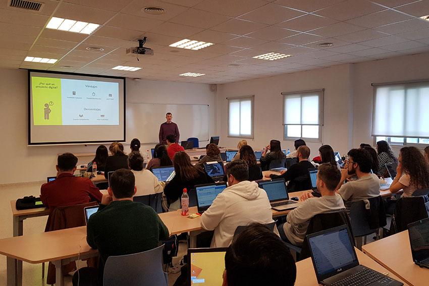 Curso planificación estratégica proyecto marketing digital y social media clase Juan Galera slider