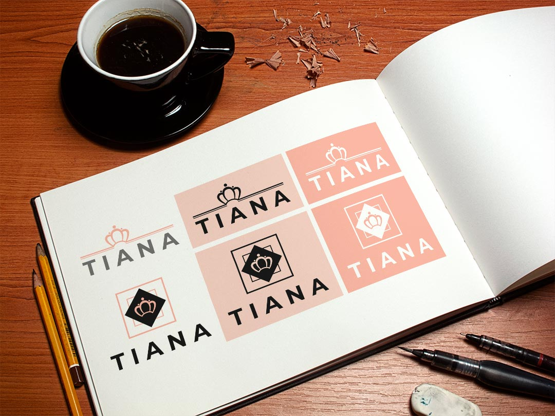 Identidad Visual Corporativa Tiana