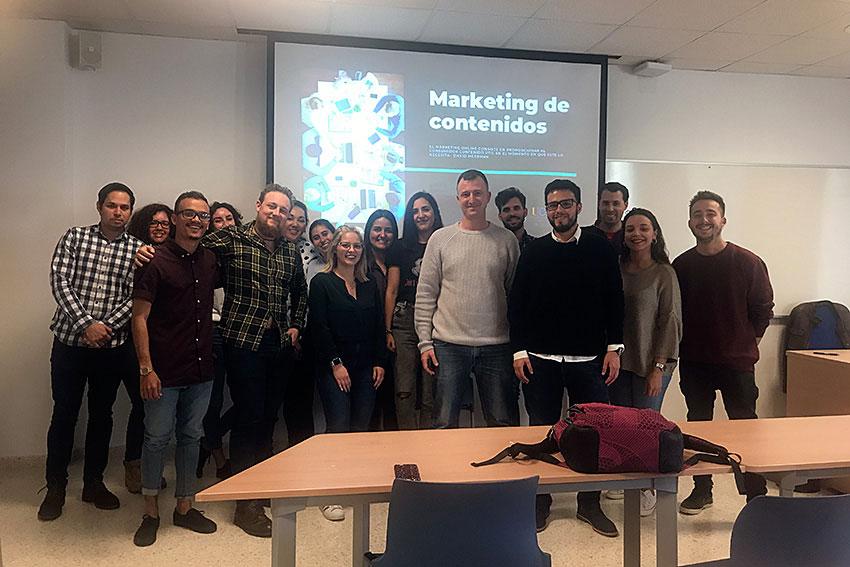 Taller marketing de contenidos Máster Marketing Digital UCA slider