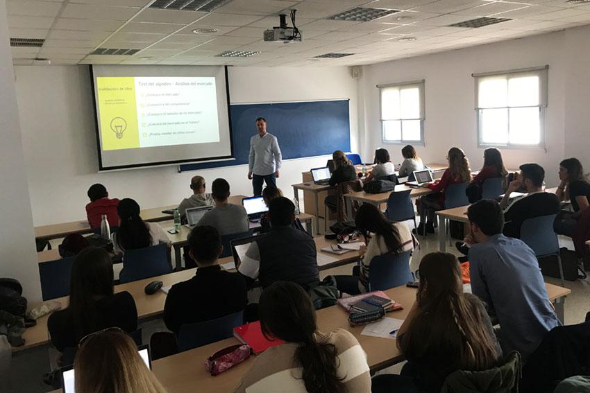 Taller planificación estratégica proyectos TIC Universidad de Cádiz parte teórico práctica slider