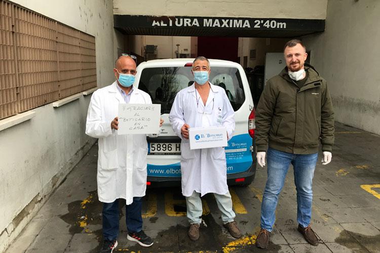 Acción Responsabilidad Social Corporativa El Boticario en Casa Coronavirus COVID-19 Juan Galera y personal hospital