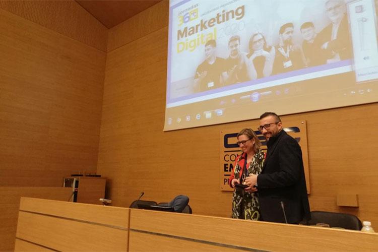 Jornadas 360 Encuentros Profesionales Marketing Digital Cádiz mesa redonda