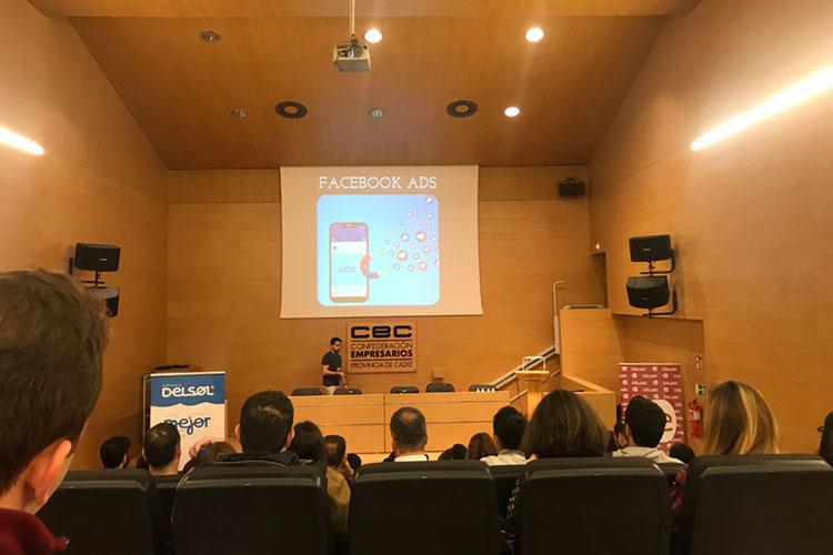 Jornadas 360 Encuentros Profesionales Marketing Digital Cádiz ponencia Álex Mateo Facebook Ads