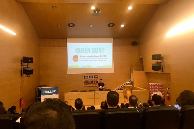 Jornadas 360 Encuentros Profesionales Marketing Digital Cádiz ponencia Álvaro Sáez presentación Chuiso