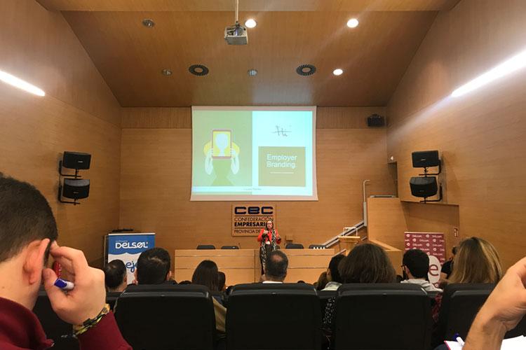 Jornadas 360 Encuentros Profesionales Marketing Digital Cádiz ponencia Laura Ravés Employer Branding