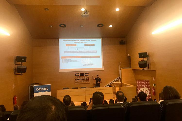 Jornadas 360 Encuentros Profesionales Marketing Digital Cádiz ponencia Luis Villanueva factores posicionamiento web