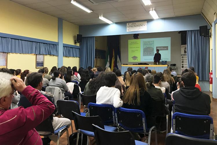 Taller planificación estratégica negocios online Instituto Andrés Benítez Jerez concursos y becas