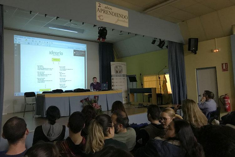 Taller planificación estratégica negocios online Instituto Andrés Benítez Jerez evaluación indicadores de rendimiento