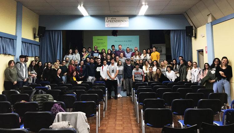 Taller planificación estratégica negocios online Instituto Andrés Benítez Jerez final evento