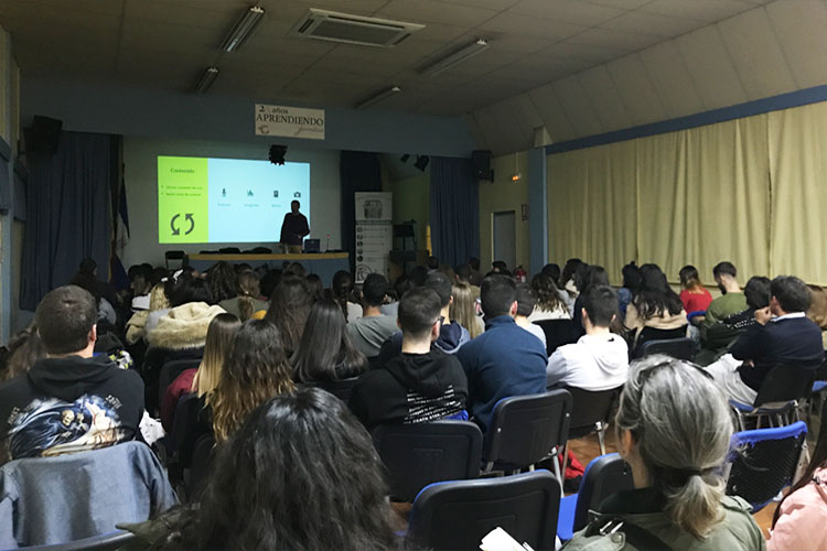 Taller planificación estratégica negocios online Instituto Andrés Benítez Jerez intercambio contenido valor y datos registro
