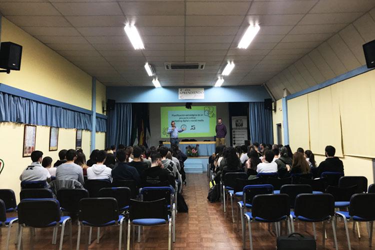 Taller planificación estratégica negocios online Instituto Andrés Benítez Jerez introducción organizador