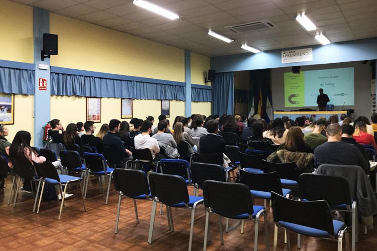 Taller planificación estratégica negocios online Instituto Andrés Benítez Jerez publicidad en redes sociales