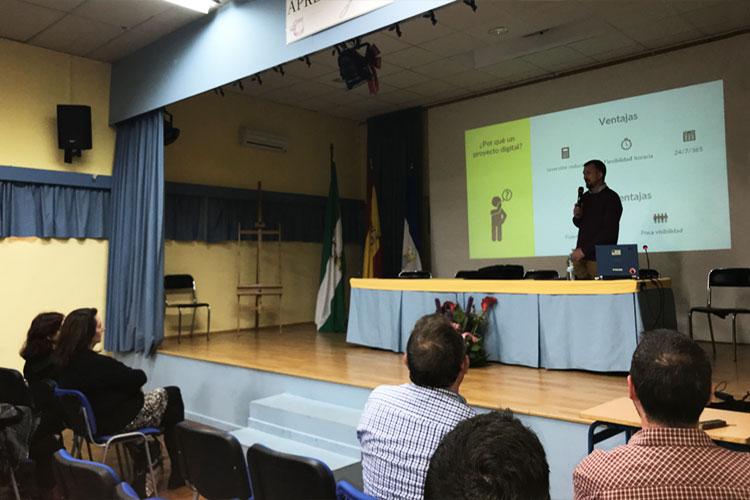 Taller planificación estratégica negocios online Instituto Andrés Benítez Jerez ventajas proyecto digital