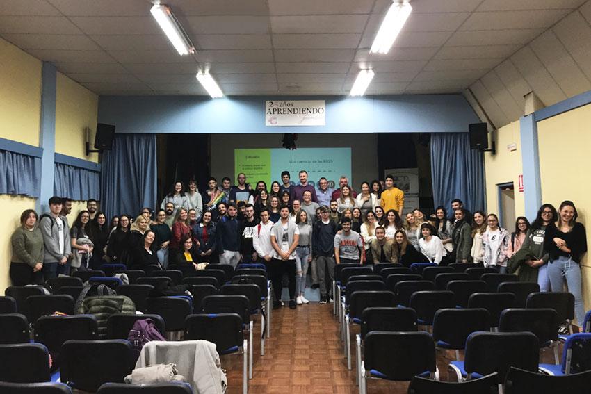 Taller planificación estratégica negocios online Instituto Andrés Benítez Jerez final acto slider